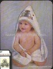 CAP TOWELS FOR BABIES