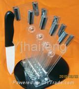 Acrylic knife block