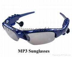 mp3 sunglasses , china mp3 sunglasses factory