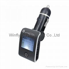 fashion bluetooth handsfree car kit