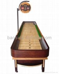 Luxury shuffleboard