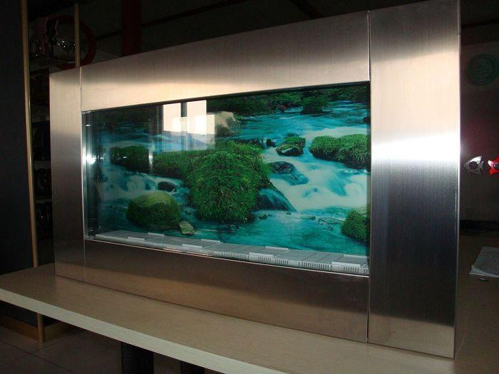 Exceptional Wall Aquarium And Fish Tank PA5  STEEL 1