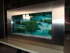 wall aquarium and fish tank PA5--STEEL