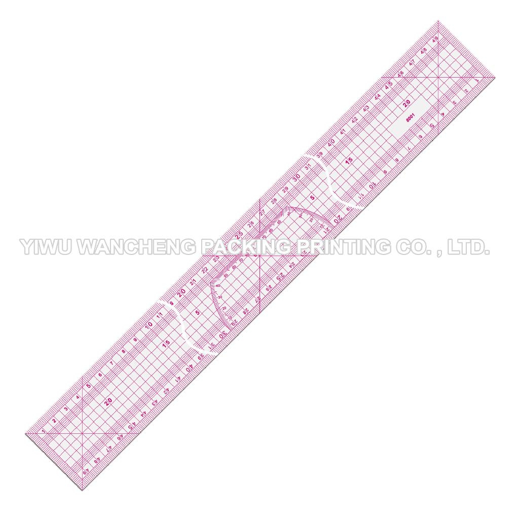 Drawing Lines With A Ruler : Metric ruler sandwich line garment a b