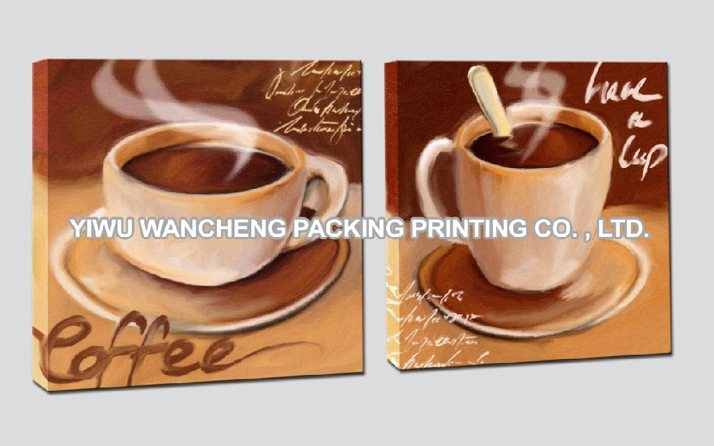 Coffee Cup Oil Painting Canvas Art Printing Wa26011 Wancheng