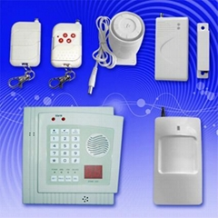 wireless auto dial intruder alarm system