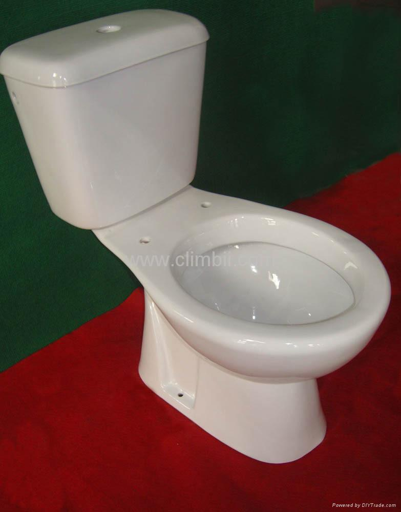 Two Pieces Wash Down Toilets Seat Closetool Squatting Wc