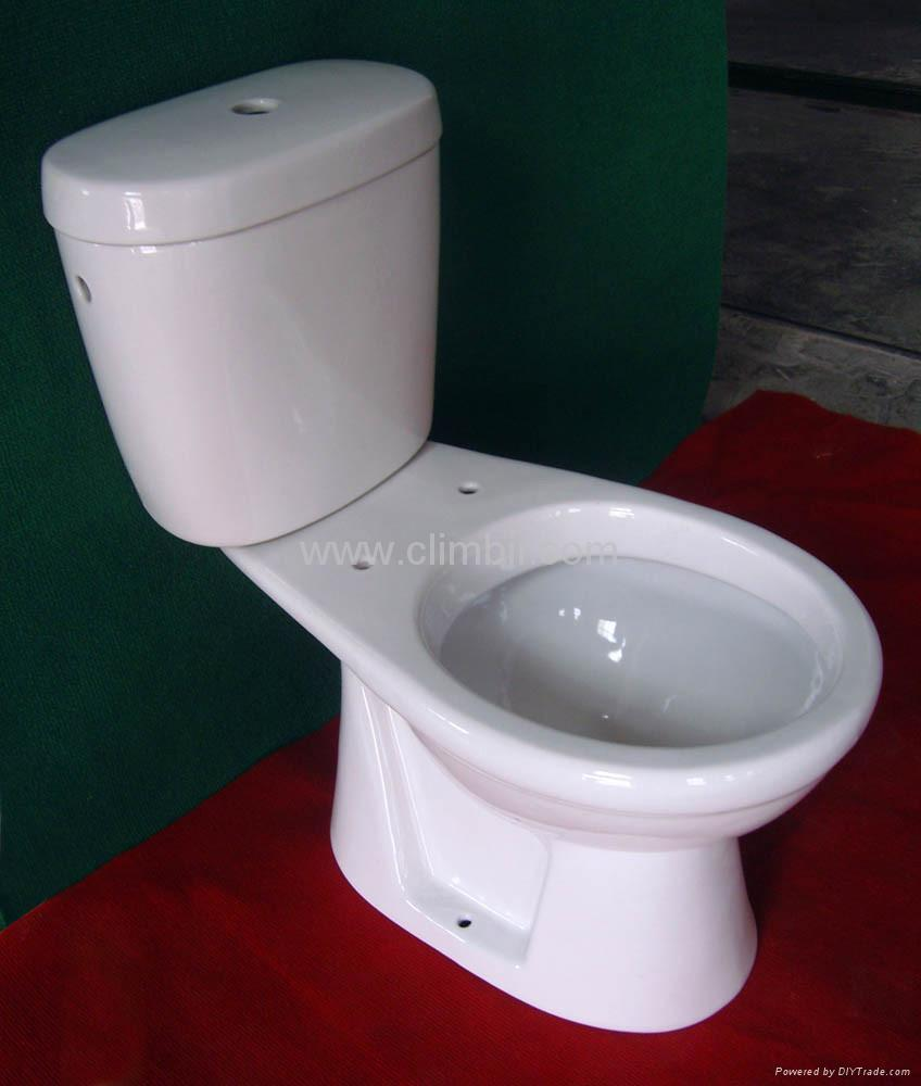 Construction Toilet Bowl : Two pieces wash down toilets seat closetool squatting wc