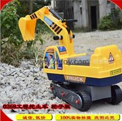 truck wheel excavator toddler edition