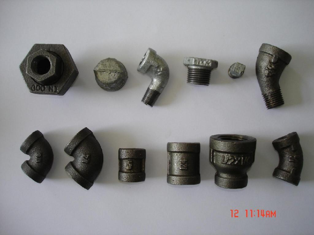 Malleable iron threaded fitting quot et tff
