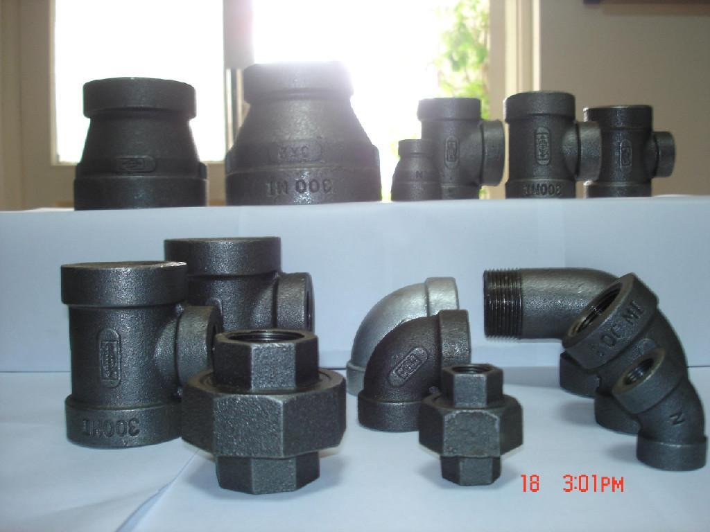 Malleable iron threaded fitting quot et tff n