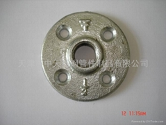 Malleable iron pipe fitting-FLOOR FLANGES