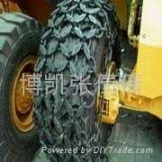 荣获IS9001标准体系认证优质铲车轮胎保护链