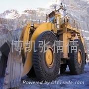 供应23.1-26压路机专用机车轮胎保护链