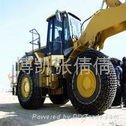 供应5折优质合金钢工程机械轮胎保护链