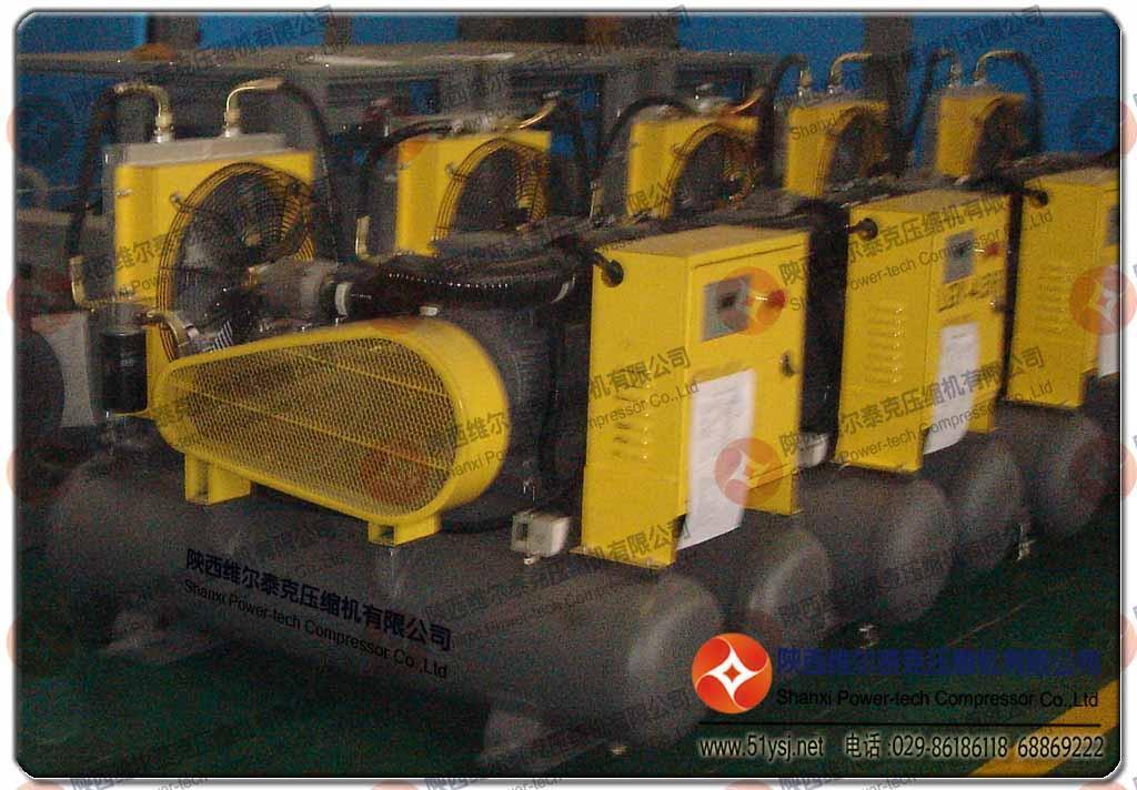 陕西维尔泰克压缩机公司超级风暴螺杆空气压缩机 5