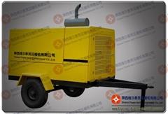 陕西维尔泰克压缩机公司柴油螺杆空气压缩机
