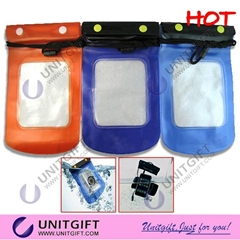 Suitable for iphone and MP4 player PVC Waterproof pouch
