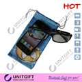 Full color priniting eyeglasses microfiber cleaning pouch 1