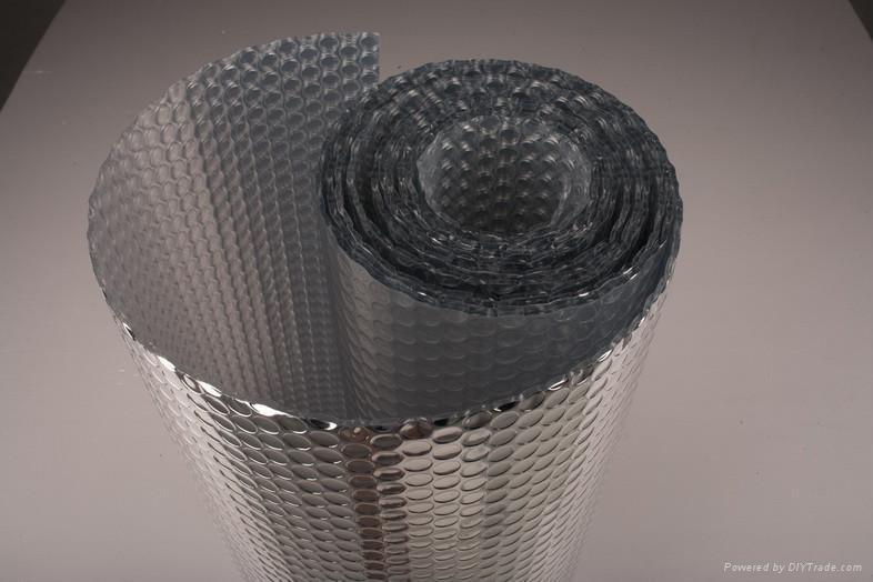 Bubble Foil Insulation With Pe Bubble And Aluminum Foil