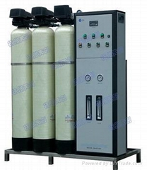 Pure water equipment for disinfection supply