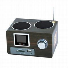 MD-D6 Multi-function Mobile Speaker Digital FM Radio