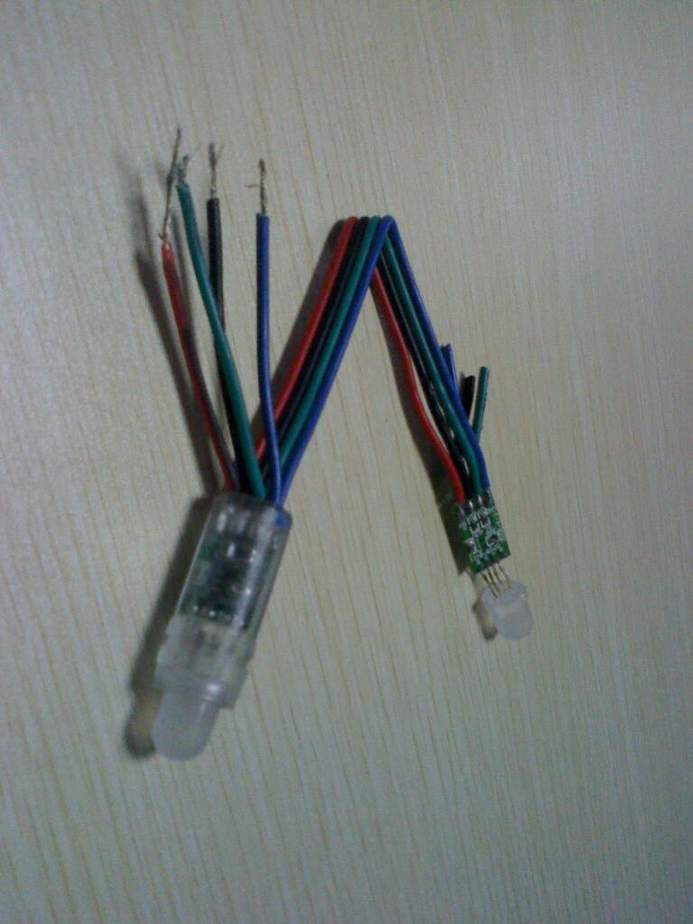 LED外露发光字 4