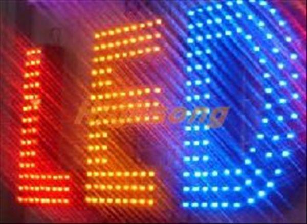 LED幻彩外露字 4