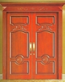 Solid wooden door wood door exterior door extrance door font door