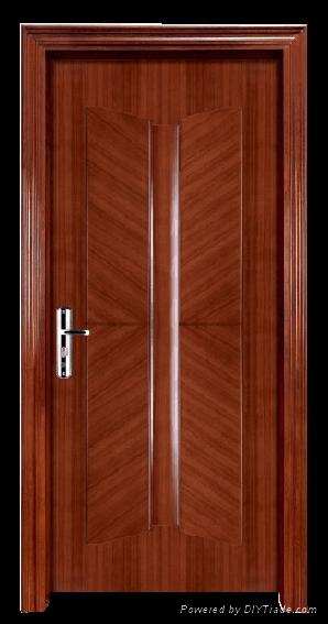 Solid Wooden Fire Rate/fire Proof Door Room Door Interior Door 1