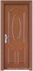 PVC abs wooden door wood door room door interior door