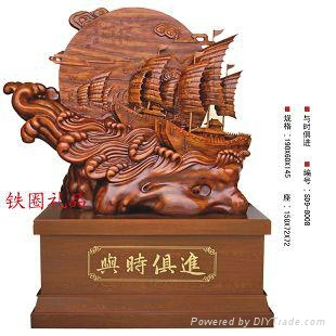 wood products Wooden crafts wood Sailboat wood Decoration 1