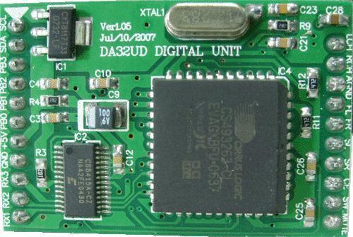 5.1 DTS/Dolby Digital AC-3 Audio Decoder DA32UD 1