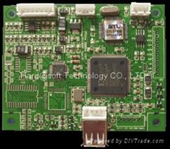 SD/U盤MP3/WMA音頻播放解碼板(OTG13V)