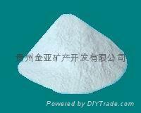 Superfine modified barium sulfate