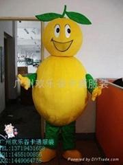 欢乐谷卡通服装水果系列