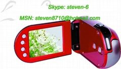 digital camera with mp3/mp4 player function