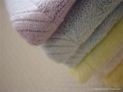 供应竹纤维方巾(供批发zzj006)