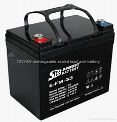 Selling High performance 12V33AH sealed lead acid battery(EPS battery)