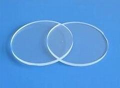 Transparent quartz  plate opaque quartz sheet Quartz disc