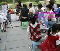 上海心乐供应新品水墨画