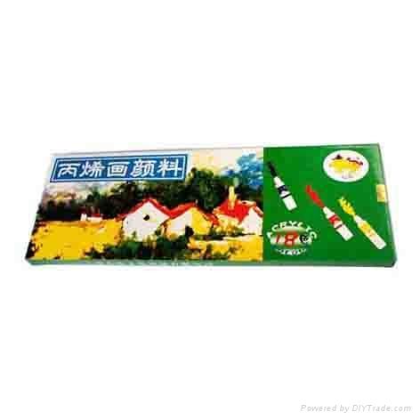上海心樂供應丙烯顏料 3