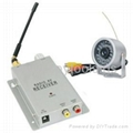 Wireless Micro CCTV Camera with Receiver Set (1.2GHz,Night Vision,1/3 Inch CMOS