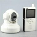 Baby Monitor Systems _ Remote Pan & Tilt Wireless Camera Series -Night Vision