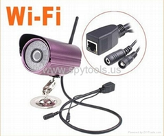 Wired Wireless WiFi IR LED Security IP CCTV Camera