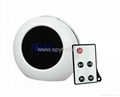 LED Alarm mirror Clock pinhole hidden camera,mini video recorder,time clock dvr