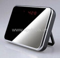 Alarm Clock Camera with 140 degree wide lens 5.0 Mega Pixels + Video Recorder