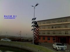 河北保定太阳能路灯发电系统