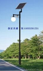 太阳能路灯之新农村建设15W太阳能LED路灯