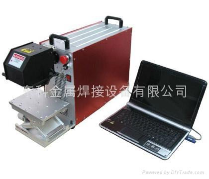 塑膠按鍵激光打標鐳雕機 2